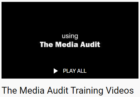 the media audit how to video library